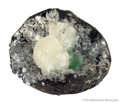 Stellerite, Epistilbite, Fluorapophyllite