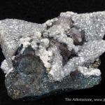 Smithsonite on Tennantite and Galena