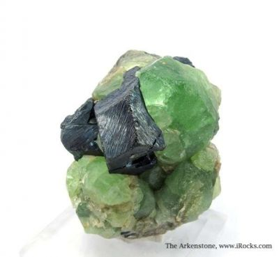 Magnetite and Peridot