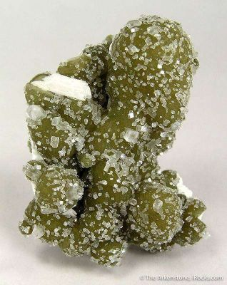Green Gyrolite With Apophyllite