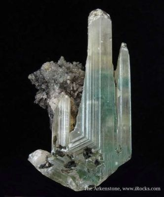 Cerussite With Malachite