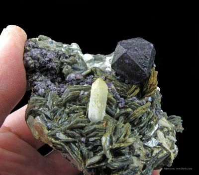 Fluorite, Zinnwaldite, and Quartz