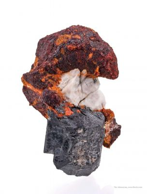 Zincite With Franklinite