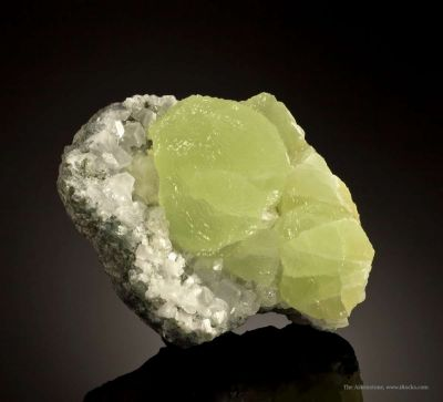 Prehnite With Calcite