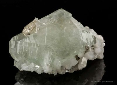 Datolite and Danburite With Quartz