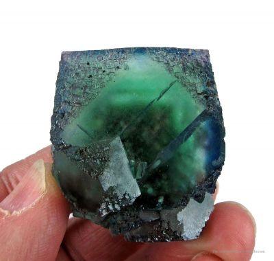 Fluorite and Quartz