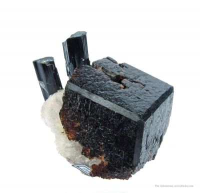 Spessartine and Schorl