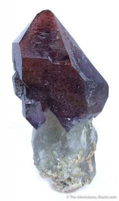 Amethyst With Geothite Inclusions