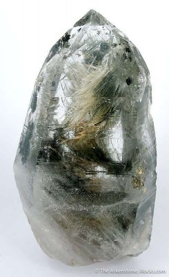 Quartz Included With Byssolite