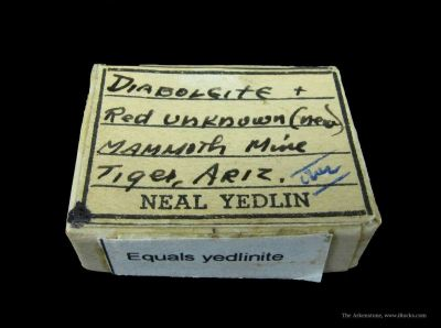 Yedlinite (Tl & Co-Type) With Diaboleite