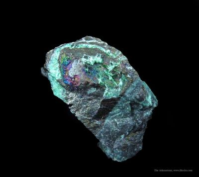 Keyite (Type Locality) and Cuprian Adamite