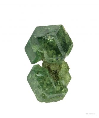 Demantoid Garnet (Unusual Habit)