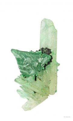Cerussite Included By Malachite