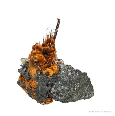 Ludlockite on Germanite