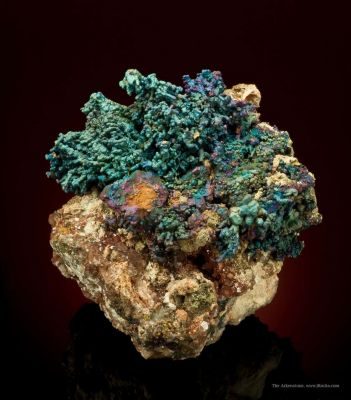 Chalcopyrite-Coated Chalcocite With Djurleite