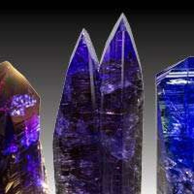 Remarkable Tanzanite Crystals