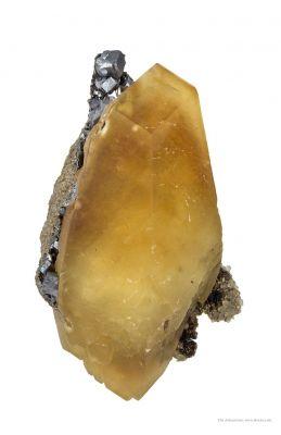 Calcite, Galena, Sphalerite, Fluorite