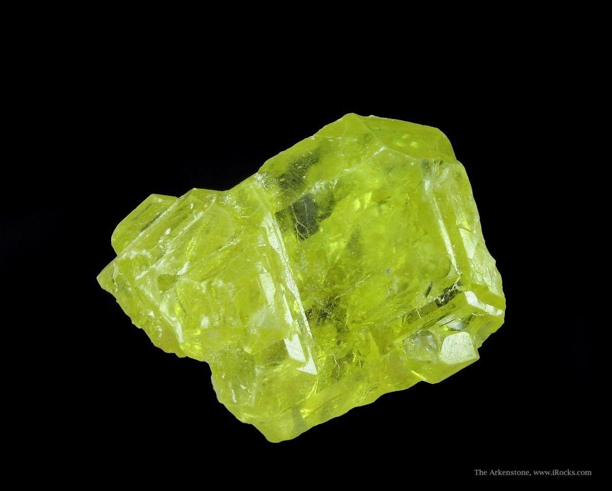 Sulfur - SOREG15-115 - Yavorovskoe - Ukraine Mineral Specimen |Sulfur Mineral