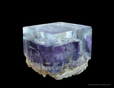 Fluorite (Fluorescent) With Muscovite
