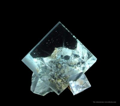 Fluorite With Galena Inclusions