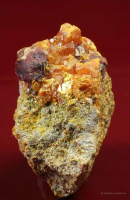 Large, Very Good Lorandite With Orpiment