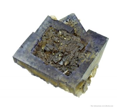 Fluorite With Strong Secondary Growth