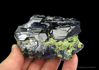 Azurite With Arsentsumebite