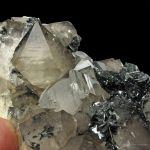 Hematite on Beta Quartz on Hematite