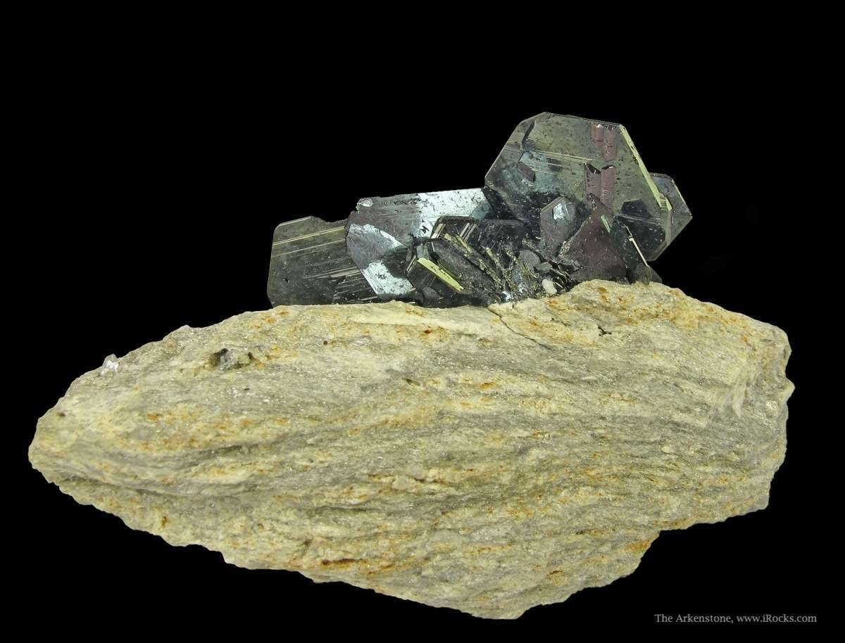 Hematite On Granite Soreg15 68 Cavradi Gorge