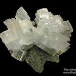 Calcite on Duftite