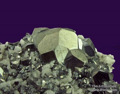 Tetrahedrite and Quartz on Arsenopyrite