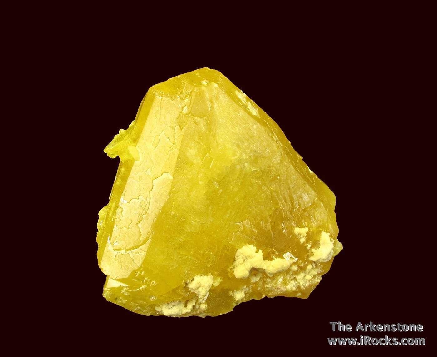 Sulfur - D16-36 - Cozzodisi Mine - Italy Mineral Specimen |Sulfur Mineral