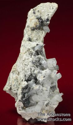 Burbankite with Gaidonnayite, Ilmenite, Analcite, Natrolite