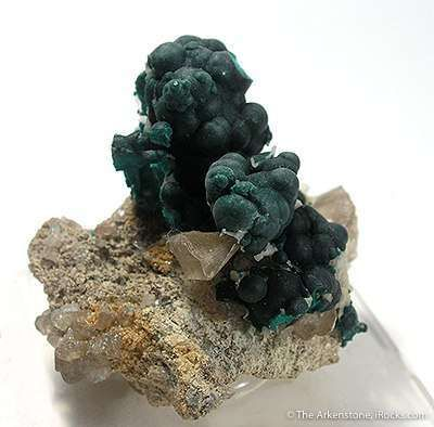 Pseudomalachite With Cerussite