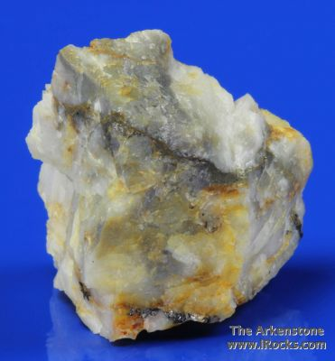 Mannardite (co-type specimen)with Barite on Quartz