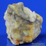 Mannardite (co-type specimen)with Barite on Quartz
