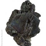 Chalcocite altered to Bornite