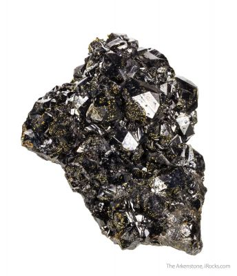 Sphalerite and Fluorite with Chalcopyrite