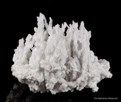 Barite stalactites