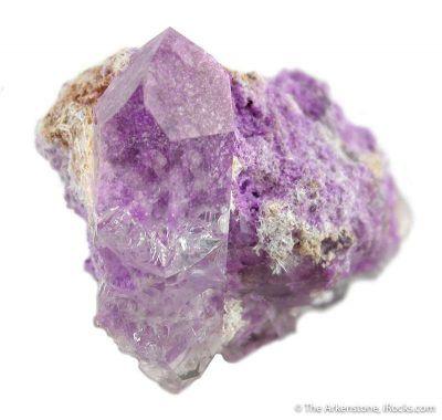 Sugilite Included In Quartz
