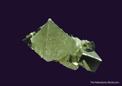 Fluorite, Pyrite, and Calcite