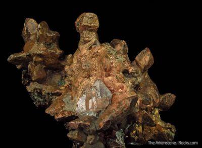 Copper and Calcite with Copper