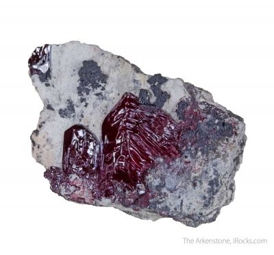 Cuprite (unusual hoppered crystal)