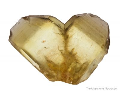 Quartz var. Citrine (twinned)