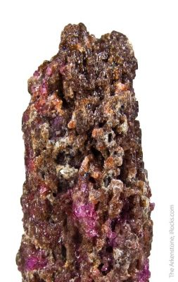 Painite with Corundum