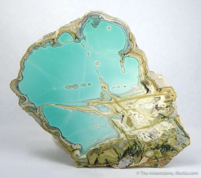Variscite With Crandalite And Wardite Rice 22 Clay