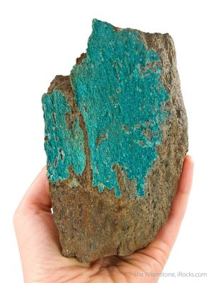 Turquoise (rare crystals)