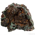 Dufrenite with Chalcosiderite and Chalcophyllite