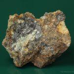 Pavonite with Aikinite and Ankerite