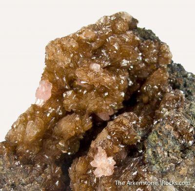 Landesite and Reddingite with Triphylite